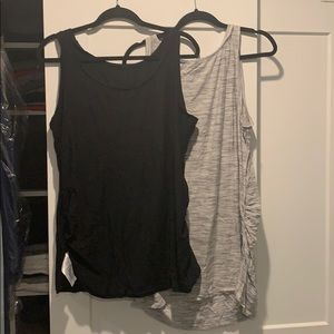 Scoop neck maternity tank tops